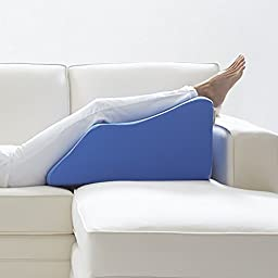 Lounge Doctor Standard Leg Rest w/Cover Blue Medium FOAM-M-BLUE