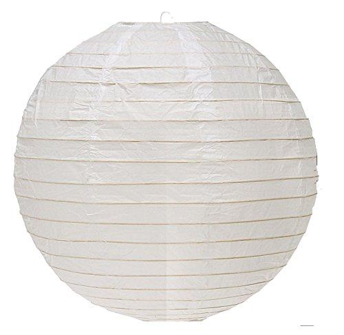 "WeGlow International 8"" Paper Lantern - White (3 pieces)"