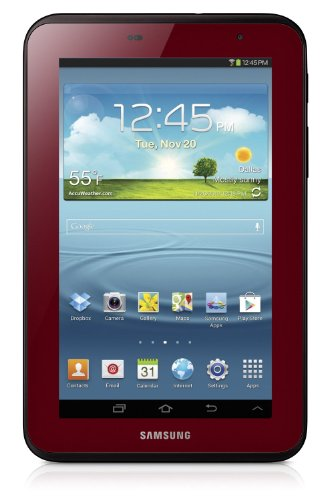 Samsung Factory Refurbished Galaxy Tab 2 (7-Inch, Wi-Fi, 8GB, Garnet Red) GT-P3113GRSXAR