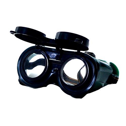 防塵から溶接へ ゴーグル 簡単切り替え 様々な用途に AHKAH WORKS...