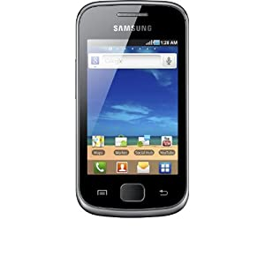 Samsung Galaxy Gio (S5660) Smartphone (8,13 cm (3,2 Zoll) Touchscreen, 3 Megapixel Kamera, Android 2.2) silber