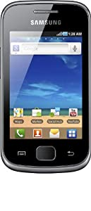 Samsung Galaxy Gio (S5660) Smartphone (8,13 cm (3,2 Zoll) Touchscreen, 3 Megapixel Kamera, Android 2.3.3) silber