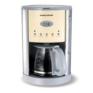 Morphy Richards Coffee Maker Customer Care : Morphy Richards 47072 Cream Coffee Maker: Amazon.co.uk: Kitchen & Home
