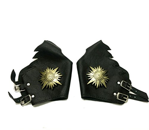 Vicwin-One D.gray-man Cosplay Punk Bronze Gloves