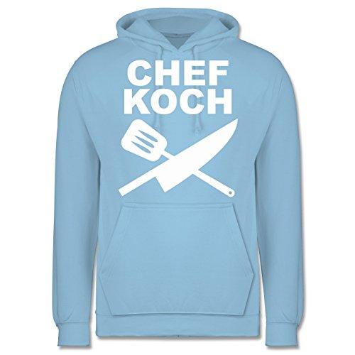 kuche-chefkoch-messer-m-hellblau-jh001-manner-premium-kapuzenpullover-hoodie