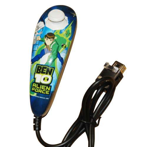 Ben10 Licenced Alien Force Wired Nunchuck (Wii)