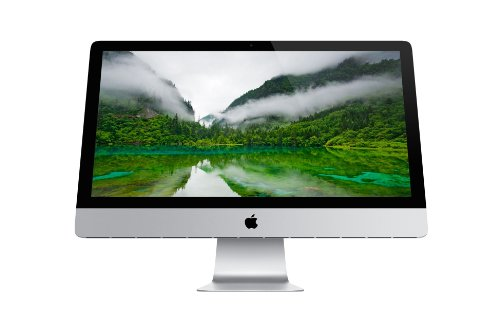 Apple 27-inch New iMac (Aluminium silver) - ( Intel Core i5 Quad-core 3.2GHz Processor, 8GB RAM, 1TB HDD, NVIDIA GeForce GT 675M, OS X Mountain Lion)