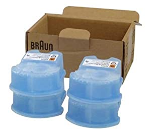 Braun Clean & Renew Cartridge Refills, Frustration Free 4 Count