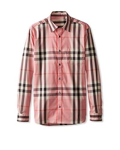 Burberry Men's Check Shirt