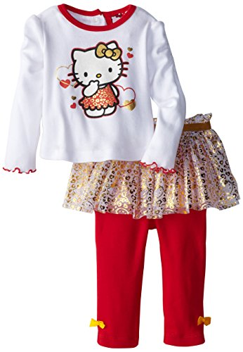 Hello Kitty Baby-Girls Infant 2 piece Full Length Tutu Legging Set