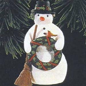Hallmark Keepsake Ornament 1996 Christmas Snowman QX6214