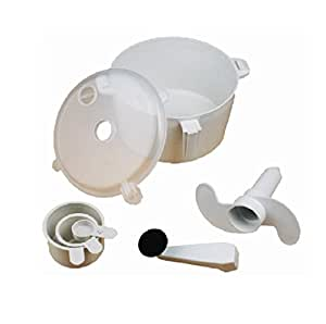 Parrk Atta Plastic Polypropylene Spiral Dough Maker available at Amazon for Rs.155