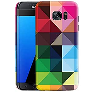 Theskinmantra Cubeism Back cover for Samsung Galaxy S7