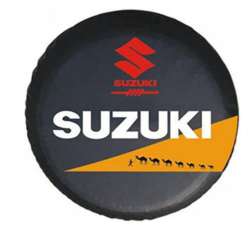 16 Inches Universal Spare Tire Type Cover Wheel Covers For Suzuki Vitara Samurai 1990-2011 (Tire Cover Vitara compare prices)