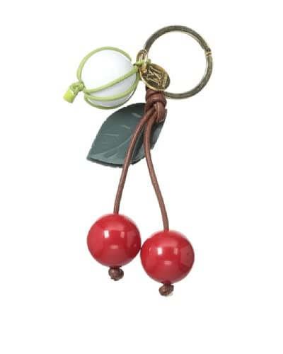 M Missoni Women's Cherry Keychain, Red As You See