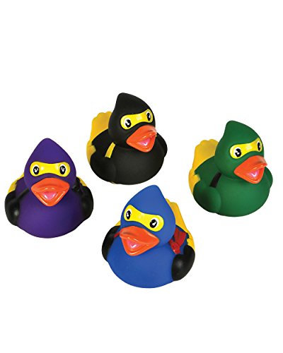 Ninja Rubber Ducks - 12 pc