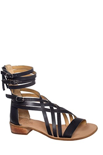 Rue Gladiator Low Heel Sandal