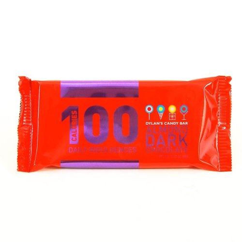 Dylan's Candy Bar 100 Calories Dark Almond Bar