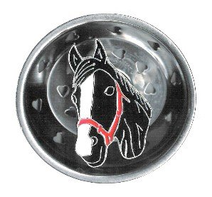 HORSE pony head Kitchen SINK STRAINER drain plug