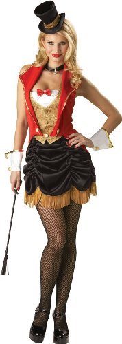 Deluxe 3 Ring Hot Ringmaster Costume for Women