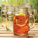 Yorkshire Mason Jar Mug, 4 Pieces