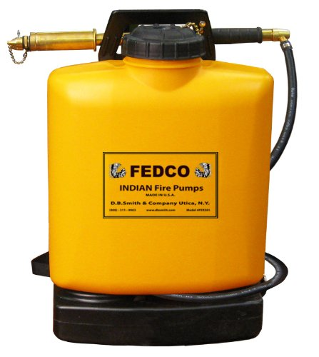 Fedco FER501 Poly Tank Fire Pump with Fedco Pump, 5-Gallon picture