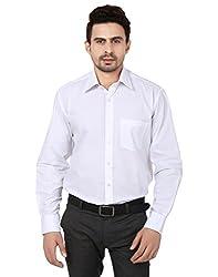 Reborn Designer White Cotton Shirt for Men -Size-40