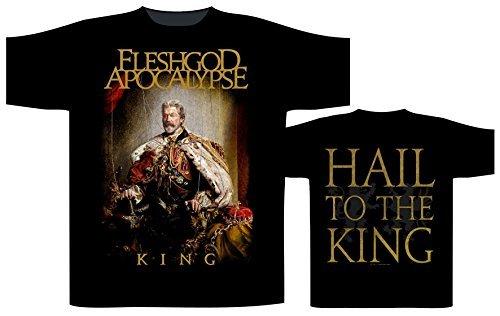 Fleshgod Apocalypse King T-Shirt nero XL