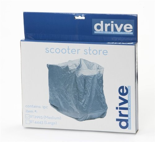 drive-medical-rt-2993-small-scooter-store-cover-grey-by-drive-medical