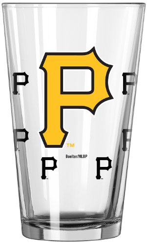 MLB Pittsburgh Pirates Officially Licensed 16-Ounce Color Changing Pint Glass