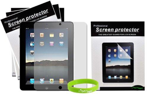 CrazyOnDigital 3 AntiGlare Screen Protectors for Apple iPad 2 2nd Generation 16GB 32GB 64GB 3G Wifi