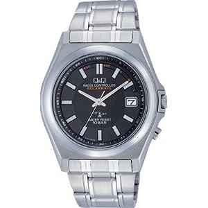 CITIZENQ&Q[シチズンキューアンドキュー] 腕時計 メンズ シチズン製 Q&Q ソーラー電波時計 HG08-202 黒