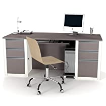 Hot Sale Connexion Executive Desk Kit - Slate & Sandstone