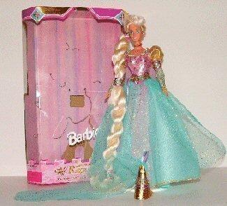 Barbie as Rapunzel by Mattel