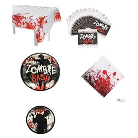 This Zombie party pack is perfect for a walking dead party or and zombie theme party.
