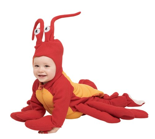 Baby Deluxe Lobster Costume Size 12-18 Months