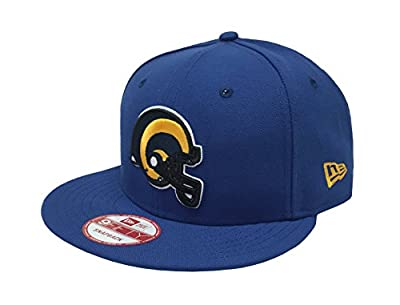 New Era 9Fifty Cap NFL Los Angeles Rams Snapback Hat - Royal Blue/Gold