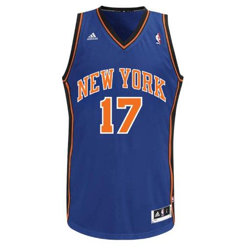 NBA New York Knicks Jeremy Lin Boys' Swingman Jersey (Blue, Large) (Jeremy Lin compare prices)