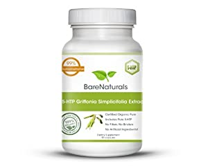 5-HTP by Bare Naturals an All Natural Appetite Suppressant and Weight Loss Supplement