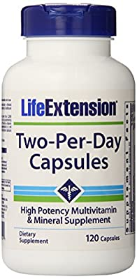 Life Extension Two Per Day 120 Capsules...