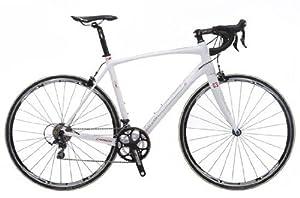 Raleigh Revenio Carbon Road Bike - Matte White, 54 cm by Raleigh