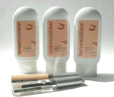 Igia Instant Cover Face & Body Concealer Tatoo Cover - 3 Colours With Bonus