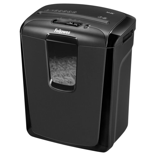 Fellowes M-8C Cross Cut 8 Sheet Personal Shredder