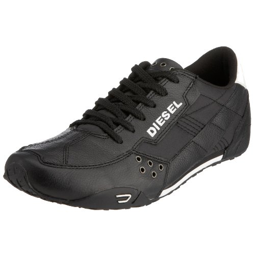 Diesel Men's Epenime 00Y869 PR215 H1532 Trainer Black/White 6 UK