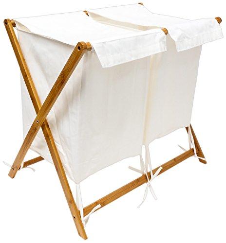 Bambus Wäschesammler