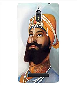 ColourCraft Lord Guru Gobind Singh Back Case Cover for OPPO FIND 7