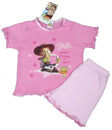 Jessie Toy Story Girls Shortie Pyjama Set