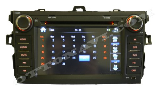 Toyota Corolla 09-11 In Dash Double Din Touch Screen GPS Navigation Radio [Hits]