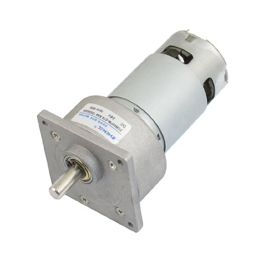 Amico 600RPM Permanent Magnetism Flange Mount Geared Motor 24VDC