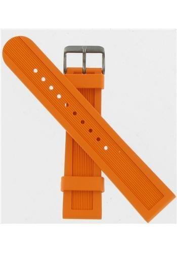 Swiss Army Dive Master 500 Orange Rubber 22Mm Watch Strap